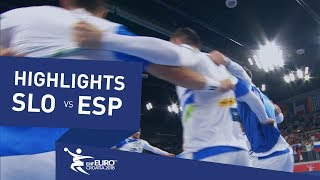 Highlights | Slovenia vs Spain | Men's EHF EURO 2018