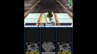 Mega Man Star Force 2 - Boss run (Zerker, no damage, most - w/o defensive cards, no WC boost)