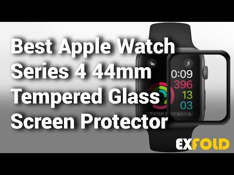 10-best-apple-watch-series-4-44mm-tempered-glass-screen-protector