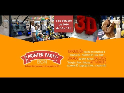 Printer Party Barcelona 2016