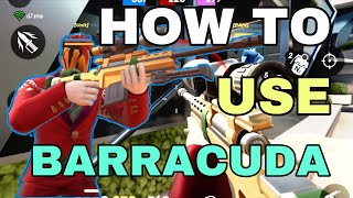 How to use BĄRRACUDA in GODS of BOOM