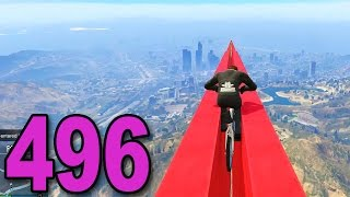 Grand Theft Auto 5 Multiplayer - Part 496 - Weird BMX Races