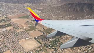 Southwest Airlines | Pushback, Taxi, Takeoff Phoenix Sky Harbor