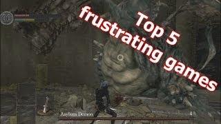 Top 5 frustrating game/genre/franchise