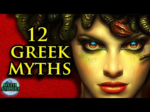 Greek Mythology Stories Animated   Medusa, Herakles & more   Myth Stories