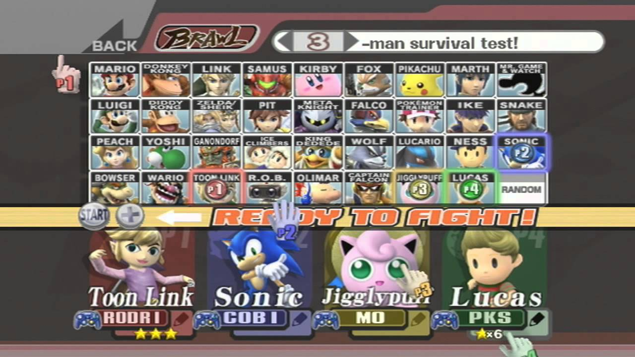 how to get tails in super smash bros brawl
