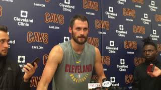 Kevin Love says Cavaliers went back to drawing board quickly on offense