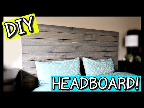 How To Make A Headboard | PINTEREST DIY 📍 How To With Kristin