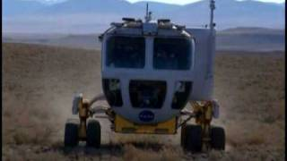 NASA ASTRONAUTS AND LUNAR ROVER IN INAUGURATION PARADE