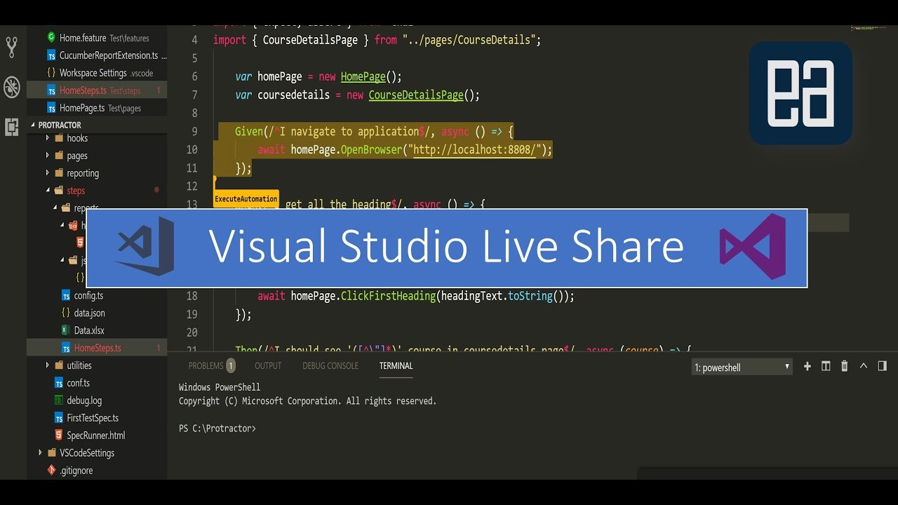 An Introduction to Visual Studio Live Share from Microsoft announced in  Build 2018