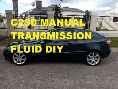 how to change transmission oil manual on mercedes benz w203 c230 rh youtube com c230 manual transmission acceleration smell c230 manual transmission acceleration smell