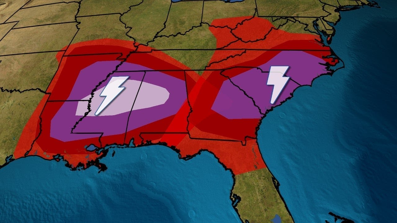 'Particularly Dangerous Situation': Tornado Outbreak Underway in ...