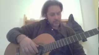 "Federico Bonsignori chitarra  -"" TEMA DI CRISTINA"""