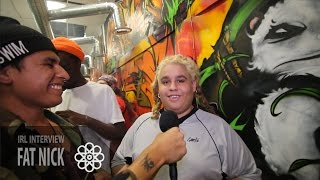 Fat Nick IRL Interview at Original Glass Products