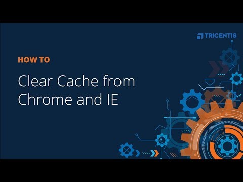 How To: Clear Cache From Chrome And IE