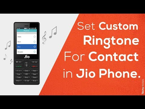 How To Set Custom Ringtone In Jio Phone