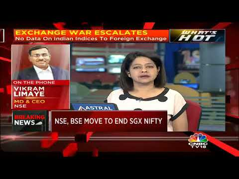 NSE, BSE Issue Joint Press Release To End SGX Nifty & Sensex Futures | CNBC TV18