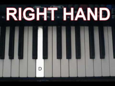 How to Play Tong Hua Piano Simple Version