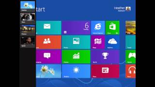 Windows 8 - Where's my big red X? How do I close an app?