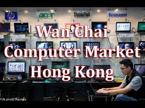 Wan Chai Computer Market Hong Kong. Very expensive :-(