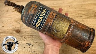 Vintage Oxidized Sprayer restoration