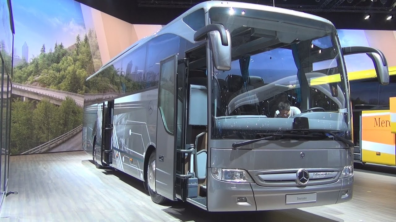 Mercedes-Benz Tourismo 20th Anniversary bus Exterior and ...