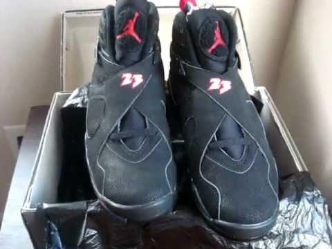 1ea78bd5940a 1993 Nike Air Jordan VIII Playoffs Original 8 OG - YouTube