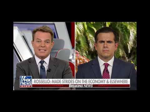 La Gitana - Aqui esta la entrevista que le hizo Fox al gobernador Ricardo Roselló!