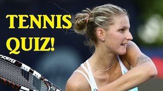 QUIZ on Karolina Pliskova! - Australian Open 2018