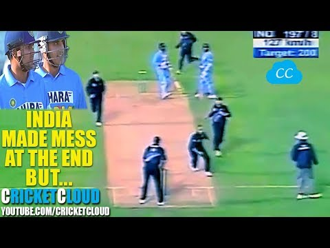 Sehwag Lead India BUT WHAT HAPPENED AT THE END - UNBELIEVABLE FINISH !! MUST WATCH !!