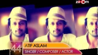 Atif Aslam  Most Desirable Men at No.44