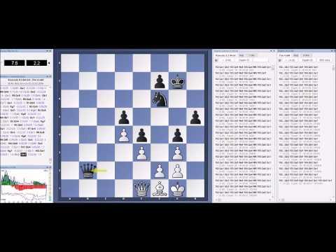 KOMODO 9.3 plays Slav Defence against 3 engines; Fritz 12, Fire 4 & Stockfish 7