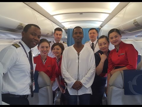 "Must See! Jamaican Air Macau Pilot flies me to Vietnam! (""Say Hello..."" pilot episode)"