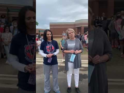 April 23, 2021 - Tara Oaks Elementary School Ribbon Cutting Ceremony Running and Walking Track
