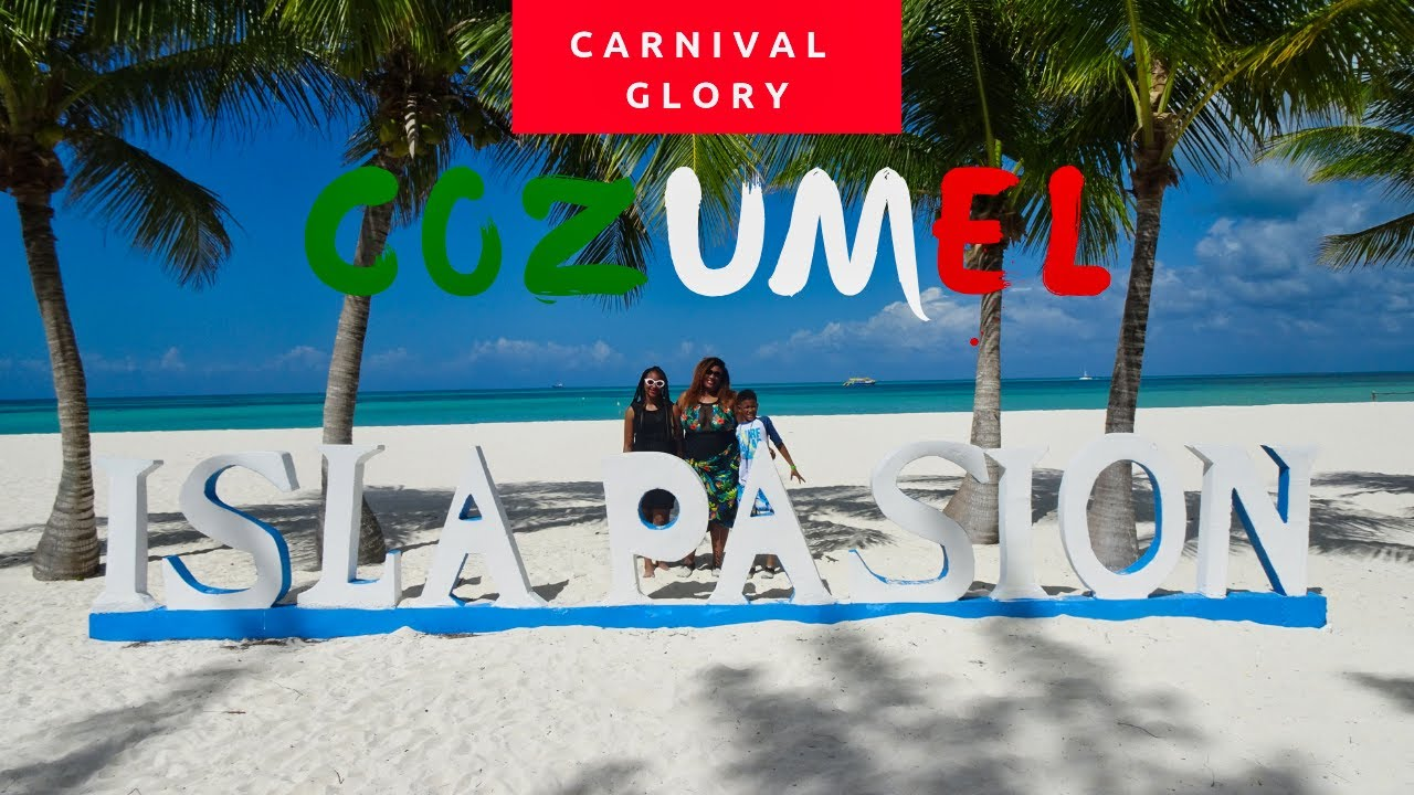 Carnival Glory| Cozumel| March 2019 - YouTube