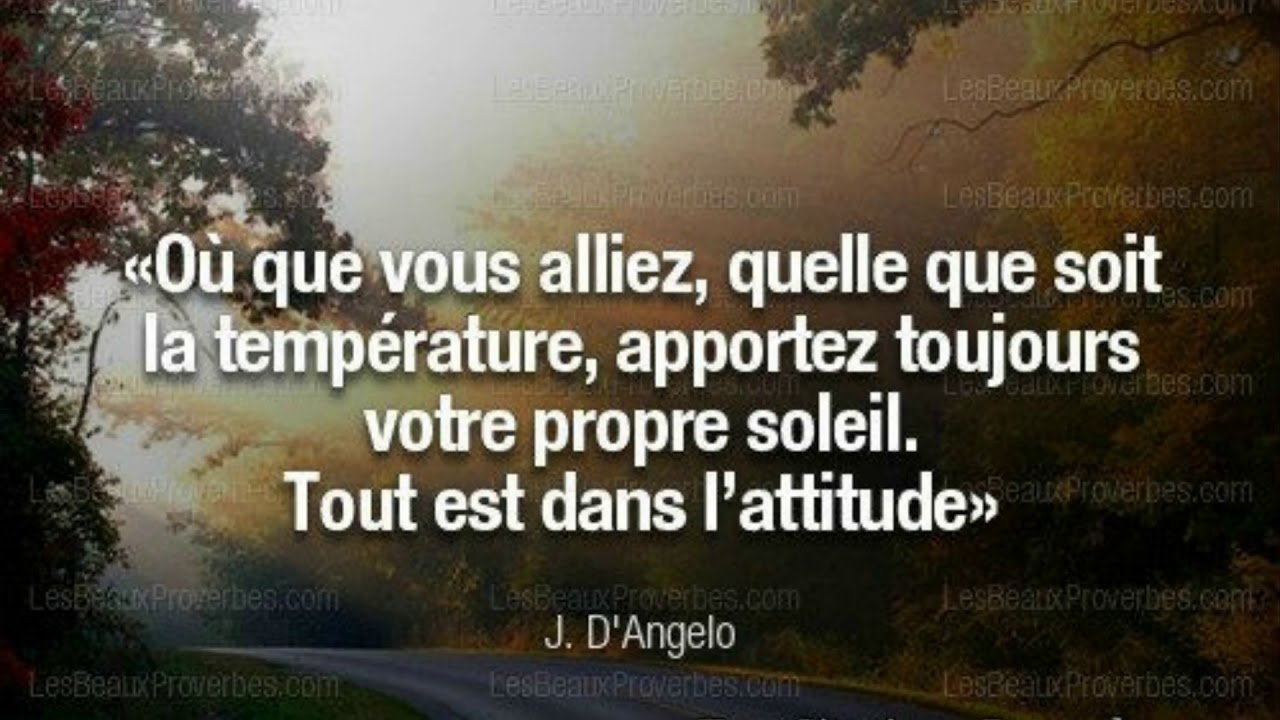 Proverbe Citation Confiance Soleil Youtube