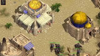 Nemesis of the Roman Empire - 1 Gaul vs 5 Hard AI - Clip 2