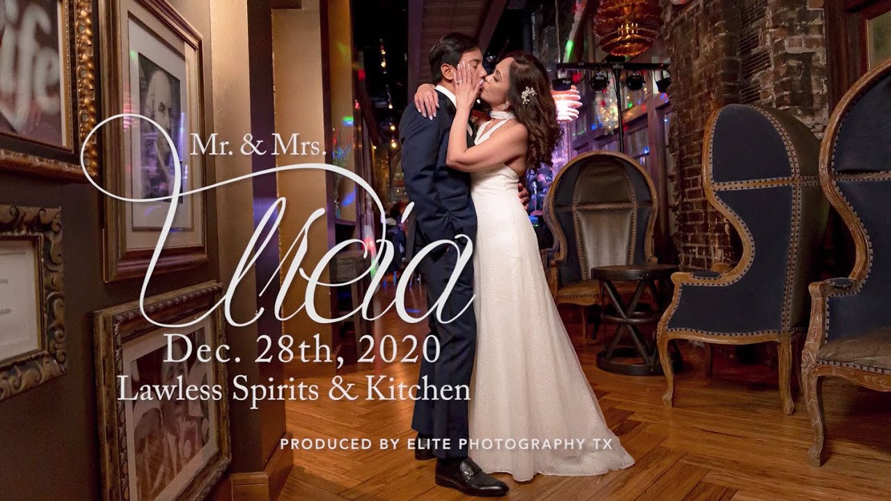 Houston Wedding Photography Lawless Spirits Kitchen Www Elitephotographytx Com Youtube