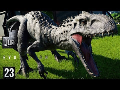 INDOMINUS REX RELEASED, A MONSTER TO CONTAIN | Jurassic World: Evolution (Gameplay Part 23)