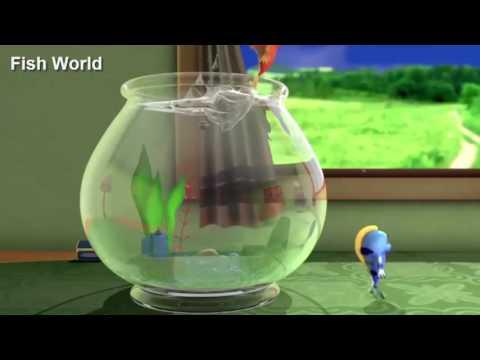 Fish Cartoon World Clothes Design