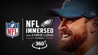 The Waterboys Conquer Kili ⛰️ | Chris Long Ep. 2 | NFL Immersed | 360° Video thumbnail