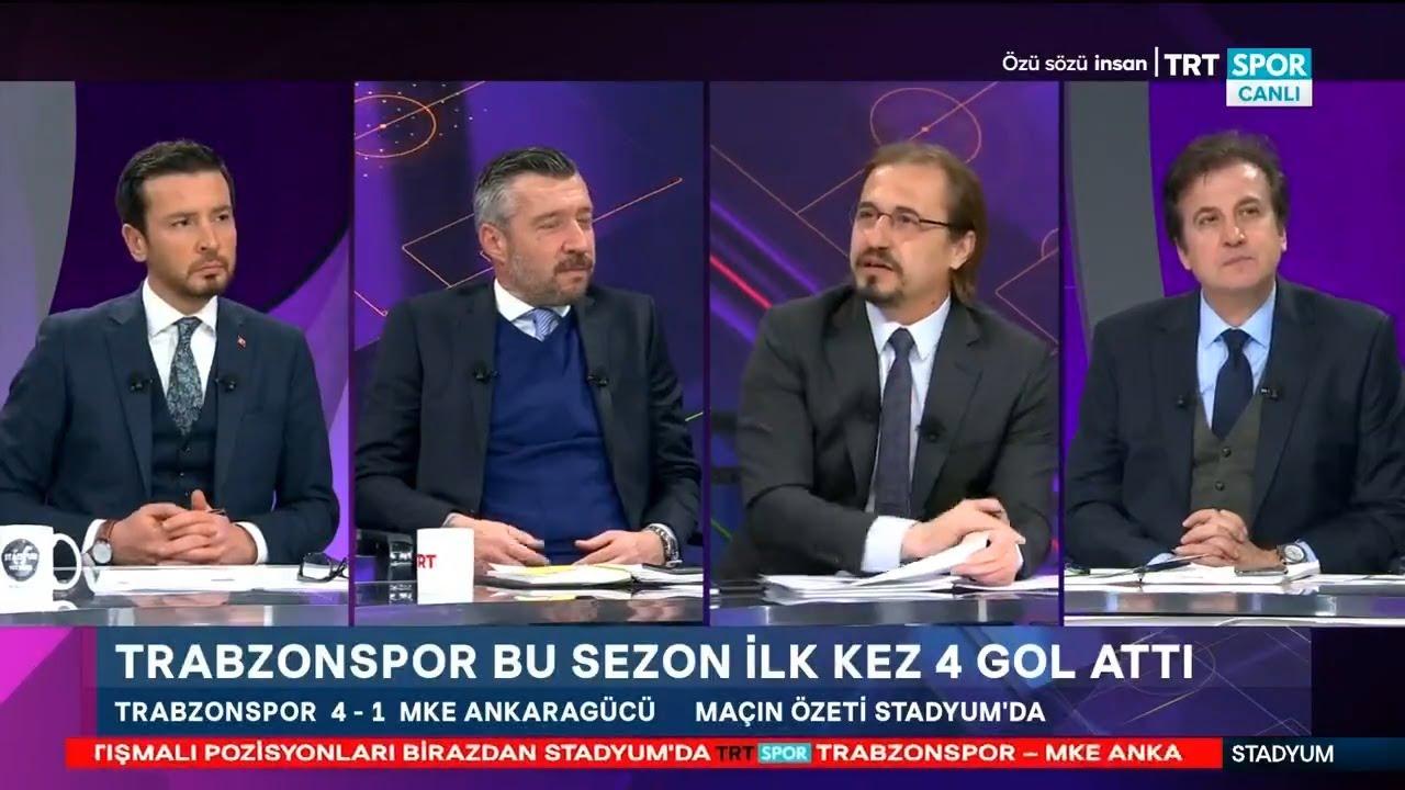 Stadyum Trabzonspor Ankaragucu 4 1 Mac Sonu Yorumlari Djaniny Ekuban Ugurcan Cakir Youtube