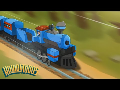 Train is a Comin' - Train Song! Music for Children from Howdytoons