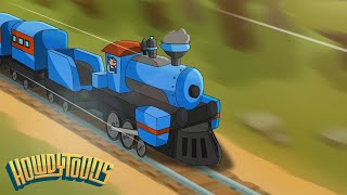 Train Is A Comin 39 Train Song Music for Children from Howdytoons.mp3