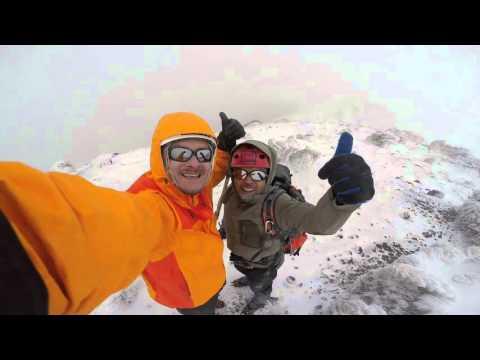 Volcan Nevado del Ruiz o Cumanday Gopro