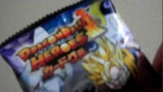 ドラゴンボールヒーローズ カードグミ3 2個開封