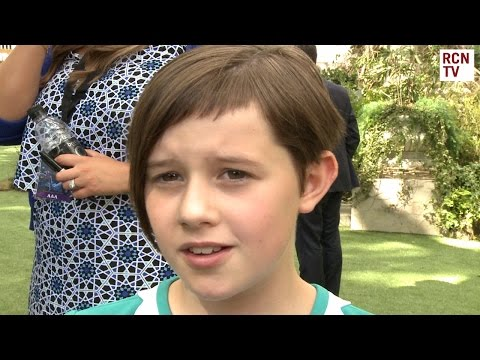 Ruby Barnhill Interview The BFG Premiere