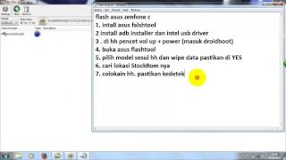 FLASH Asus Zenfone C(ZC451CG/Z007)