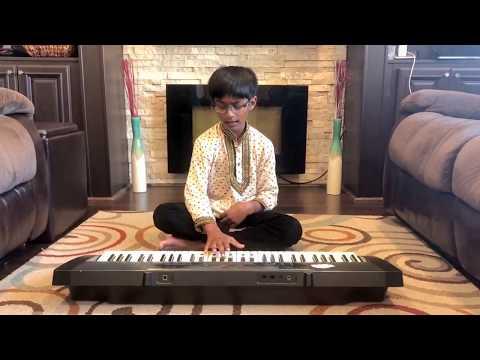 indian national anthem keyboard