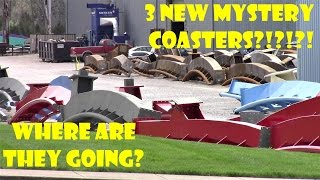 3 New Coasters At Bolliger and Mabillard (B&M) Roller Coaster Track Manufacturing Plant Visit!
